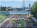 TQ3490 : Victoria Line tracks south of the Northumberland Park Depot (3) by Mike Quinn