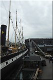 ST5772 : SS Great Britain from the walkway by DS Pugh