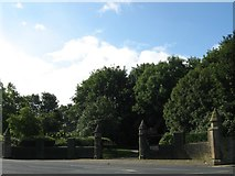 SE1734 : Undercliffe Cemetery NW entrance, Otley Road by Stephen Armstrong