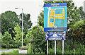 J3477 : Duncrue Estate sign, Belfast (July 2017) by Albert Bridge