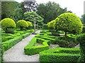 SD3791 : Dutch Garden, Graythwaite Hall by G Laird