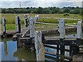 SP6296 : Bottom Half Mile Lock No 26 by Mat Fascione