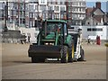 TA1765 : Cleaning South Sands, Bridlington by Graham Robson