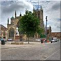 TA0928 : Kingston Upon Hull, Trinity Square by David Dixon