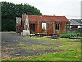 NY4887 : An old corrugated iron shed by Rose and Trev Clough