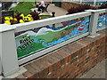 SO8540 : Mural on the flood barrier by John M