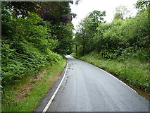 SH9721 : On the road around Vyrnwy by Richard Law