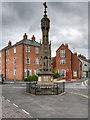 SE7428 : Howden War Memorial by David Dixon