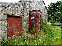 H5956 : Derelict telephone box, Cleanally by Kenneth  Allen