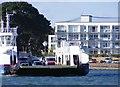 SZ0386 : Leaving Ferry by Gordon Griffiths