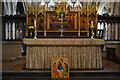 TA0339 : Church of St Mary - altar by N Chadwick