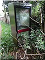 SU7298 : Former KX300 Telephone Kiosk in Aston Rowant by David Hillas