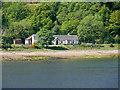 NN0974 : The Old School House, Trioslaig by David Dixon