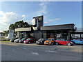 TQ5809 : Chandlers MINI Showroom, Hailsham by PAUL FARMER
