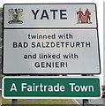 ST7082 : Yate boundary sign by Jaggery