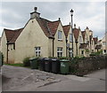 ST6783 : Row of cottages, High Street, Iron Acton by Jaggery