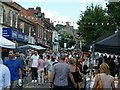 SK3447 : Belper Food Fair by Alan Murray-Rust