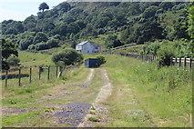 SO1506 : Track alongside A4048, New Road by M J Roscoe
