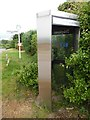 SU6799 : KX300 Telephone Kiosk and Sign Post, Stoke Talmage by David Hillas