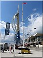 SZ6299 : The Spinnaker Tower on Gunwharf Quays by Steve Daniels