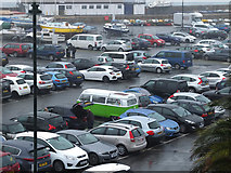 SW4730 : Car Park North of Penzance Harbour by Gary Rogers