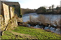 NY9168 : Disused mill race on River North Tyne near Wall Northumbria by Bob Pearce