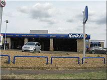 TL2373 : KwikFit in Huntingdon by M J Richardson