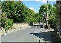 SK3446 : Gibfield Lane railway bridge by Alan Murray-Rust
