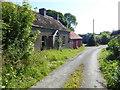 H6655 : Derelict house, Killyneery by Kenneth  Allen