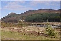 NN8596 : View down Glen Feshie by Richard Webb