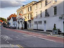 SU1429 : The Red Lion, Salisbury by David Dixon