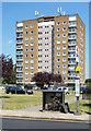 TQ1073 : Housing Block, Bedfont Lane by Des Blenkinsopp
