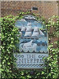 TQ3081 : Sign on The Enterprise, Red Lion Street, WC1 by Mike Quinn