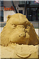 NZ5925 : Life of Pi - sand sculpture by Stephen McKay