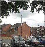 J3674 : Housing estate on redeveloped land between Upper Newtownards Road and Ravenscroft Avenue by Eric Jones