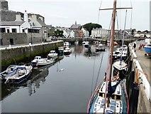 SC2667 : Castletown Harbour by Graham Hogg
