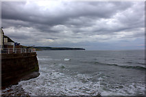 NZ8911 : Whitby seafront from West Pier by Robert Eva