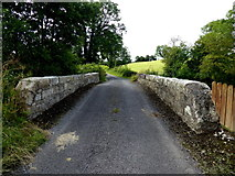 H2974 : Bridge along Barravey Road by Kenneth  Allen