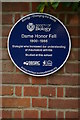 SP5107 : Blue plaque to Honor Fell, outside Wychwood School, Banbury Road, Oxford by Christopher Hilton
