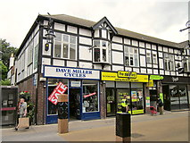 SJ4066 : Dave Miller Cycles and The Zipyard, Chester by Jeff Buck