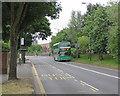 SK5738 : Meadows Way: Eugene Gardens bus stop by John Sutton