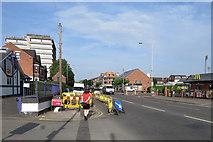 SK5838 : Midsummer morning on Radcliffe Road by John Sutton
