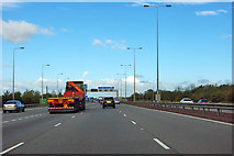 TL1493 : A1(M) northbound by Robin Webster