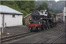 NZ8204 : Grosmont. Pickering train by Robert Eva