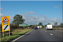 TL1196 : A1 northbound by Robin Webster