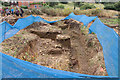 SK8329 : Croxton Kerrial 12thC Medieval Manor House: excavations (2) by Kate Jewell