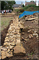 SK8329 : Croxton Kerrial 12thC Medieval Manor House: excavations (4) by Kate Jewell