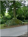 SK3940 : Morley village cross by Alan Murray-Rust