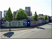 J3274 : John Henry Patterson Mural, West Belfast by David Dixon