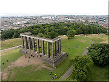 NT2674 : The National Monument of Scotland by Gareth James